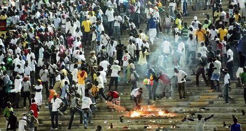 interruption match cote-ivoire Senegal