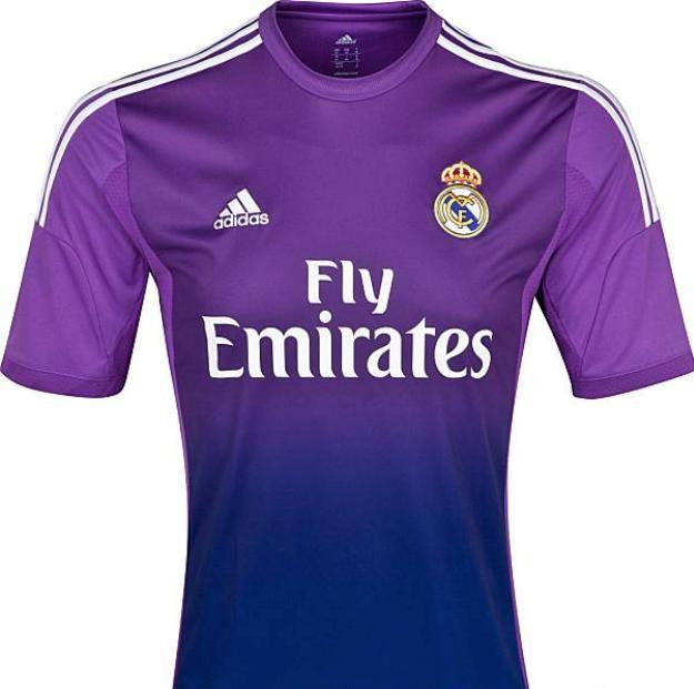 maillot gardien real madrid saison-2014