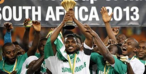 Nigeria, champion d'Afrique 2013