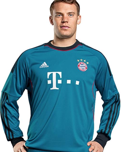 nouveau maillot Manuel Neuer