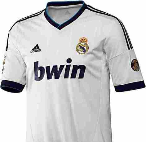 Real Madrid maillot domicile 2012 2013