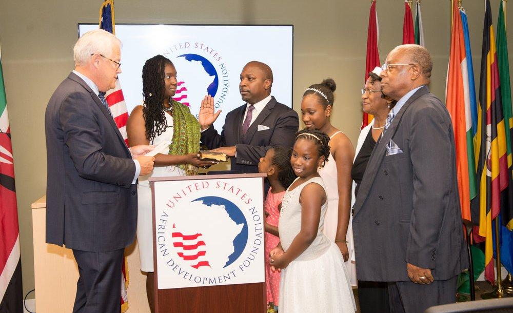 C. D. Glin, le président de la Fondation des Etats-Unis pour le développement en Afrique (Usadf) / Photo : usadf.gov