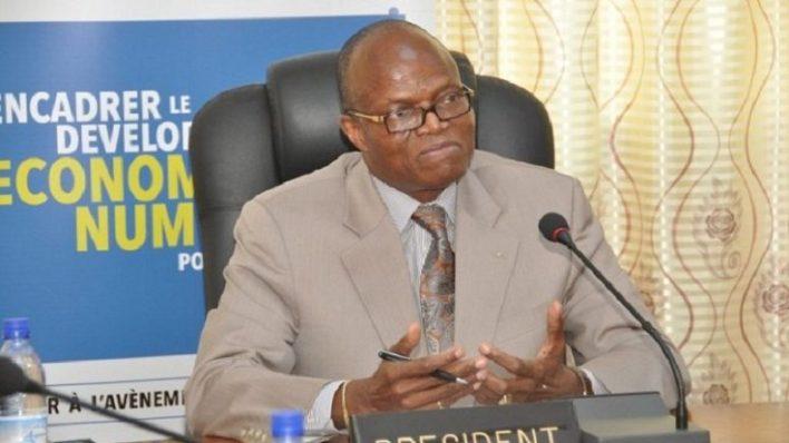 Flavien Bachabi, président de l'Autorité de régulation des communications électroniques et de la poste du Bénin (Arcep-Bénin) / Photo : beninto.info