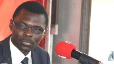 Joseph Djogbénou , ministre Béninois de la Justice de la Législation et des Droits de l'Homme / © V. Le Guen/RFI