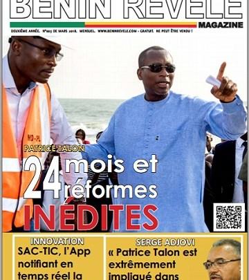 Photo of Bénin Révélé Magazine N°003 – Mars 2018