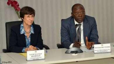 Photo of Abdoulaye Bio Tchané et l'Afd passent en revue les projets financés par l'Agence au Bénin