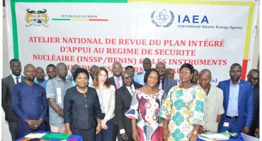 Photo of Le Bénin revoit son plan intégré d'appui à la sécurité nucléaire