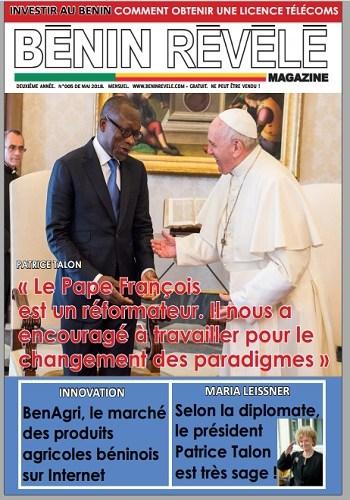 Bénin Révélé Magazine 2018