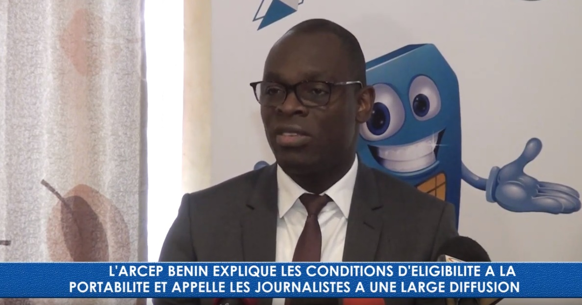 Bénin: Hervé Coovi GUEDEGBEexplique les avantages de la portabilité des numéros mobiles [Vidéo]