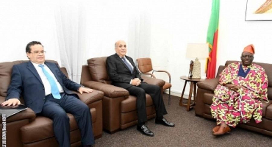 L'ambassadeur-koweitien-et-celui-du-Maroc-au-Bénin-ont-rendu-visite-à-Louis-Vlavonou