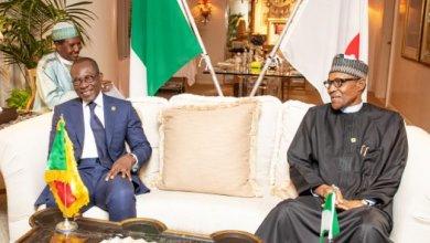Patrice Talon et Muhamed Buhari