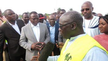 Photo of Hervé Hèhomey prescrit l'accélération du chantier de la route Calavi Kpota- Ouèdo- Hêvié- Cococodji