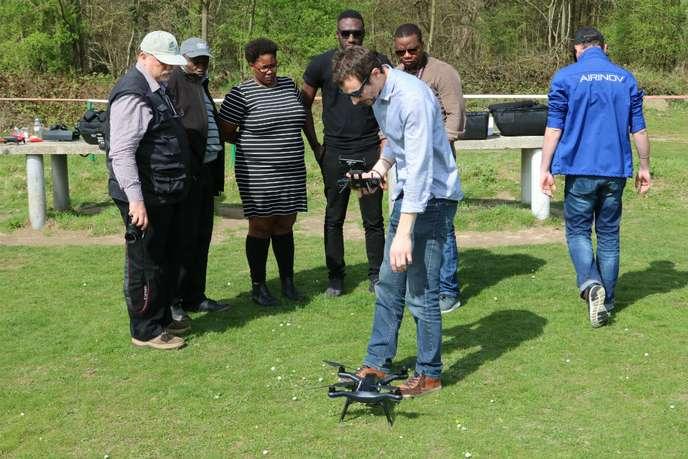 utilisation des drones agricoles en Afrique subsaharienne