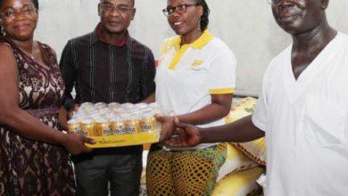Photo of Mtn-Bénin apporte du sourire aux pensionnaires de l'Ong Racines