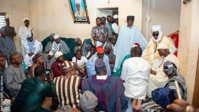 Photo of Gaani 2019 : Une délégation gouvernementale chez l'empereur Chabi Naïna III à Nikki.