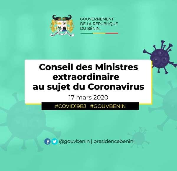 coronavirus-–-les-11-mesures-prises-par-le-conseil-extraordinaire-des-ministres-au-benin