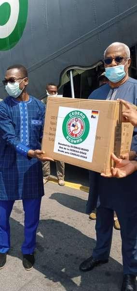 coronavirus-:-la-cedeao-fait-don-de-plusieurs-equipements-au-benin