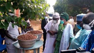 Photo of Commercialisation des amandes de karité au Bénin: Les ministres ASSOUMAN et DOSSOUHOUI lancent la Campagne 2020-2021 à Gogounou