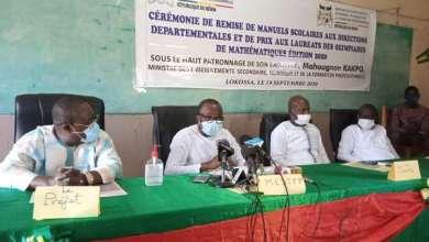 Photo of Enseignement Secondaire Général : Dotation de 8500 ouvrages scolaires aux établissements publics