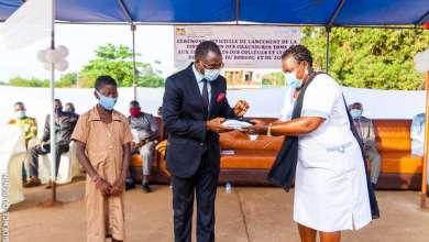 Photo of Appui de l'UNICEF à l'éducation des filles : Plus de 45.000 paires de chaussures TOMS distribuées dans des collèges et lycées du Bénin