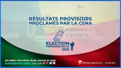 Photo of Proclamation des résultats provisoires de l'Élection Présidentielle du 11avril 2021 par la CENA