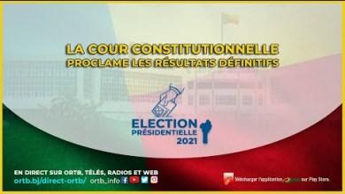 Photo of Élection Présidentielle du 11 Avril 2021:La cour constitutionnelle proclame les résultats définitifs