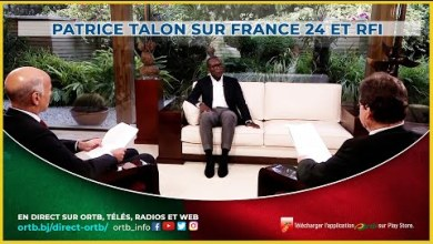 Photo of Patrice TALON sur France 24 et RFI