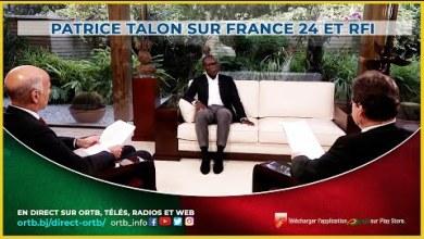 Photo of Patrice TALON sur France 24 et RFI