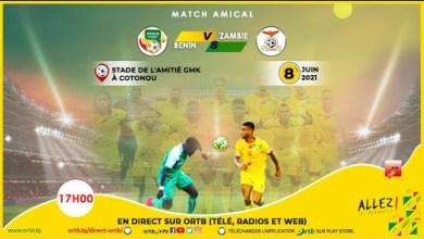 Photo of Bénin – Zambie en direct ce 8 Juin 2021
