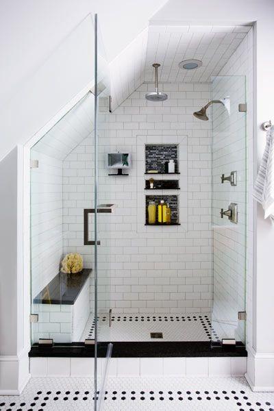 Installer une douche en soupente ides et modles