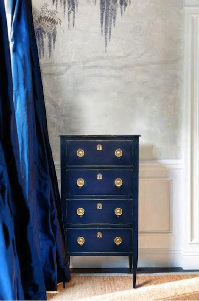 Peindre Ses Meubles En Bleu Exemples Et Ides