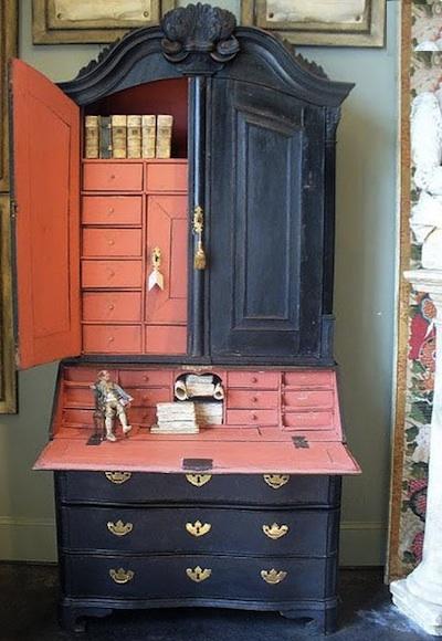et si on peignait ce meuble en noir