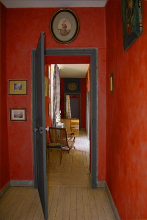 Peinture Pour Couloir Beautiful Couleur Peinture Pour Couloir Dans Une Pice Vivre Vert Peindre