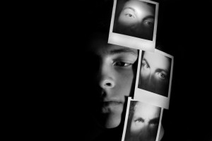 All of these Emotions of Mine - Chiaroscuro Self Portrait