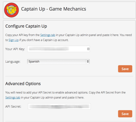 Captain Up Settings   Game Mechanics ‹ El diván de Rafael Benítez Moreno — WordPress