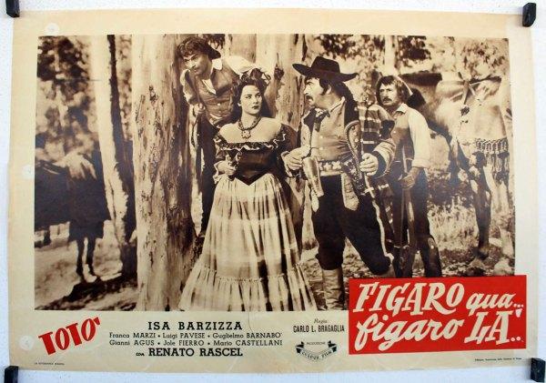 """""""figaro Qua Figaro La"""" Movie Poster"""