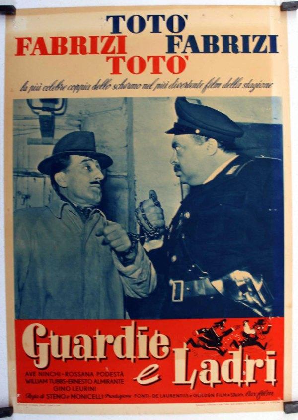 """""""guardie Ladri"""" Movie Poster - """"mi Amigo El Ladron"""