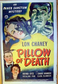 """PILLOW OF DEATH"" MOVIE POSTER - ""PILLOW OF DEATH"" MOVIE ..."