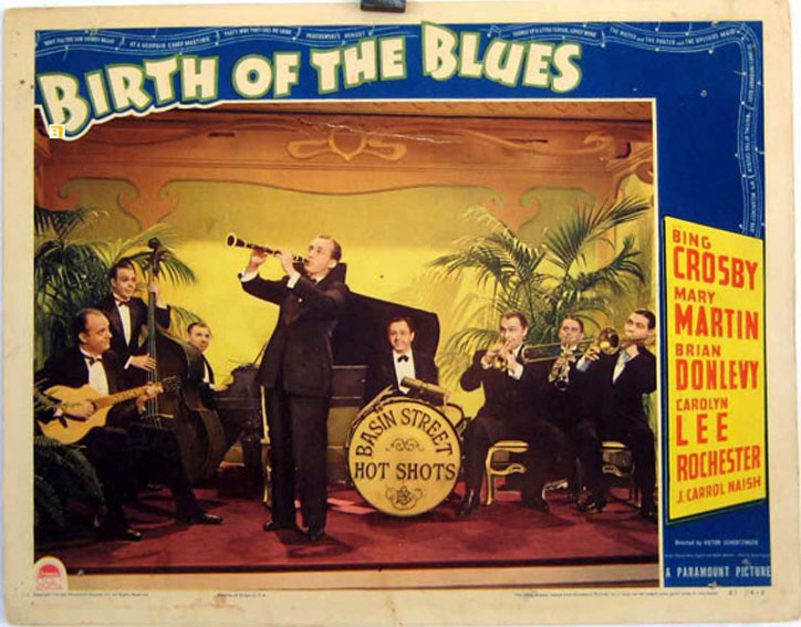 Image result for image, photo, picture , birth of the blues, movie poster