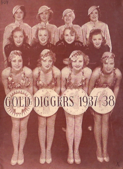 EN PARADE MOVIE POSTER GOLD DIGGERS OF 1937 MOVIE POSTER