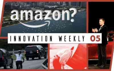 Innovation Weekly 05 – Amazon, Tesla et anti-tendance