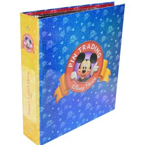 Disney Parks Exclusive Pin Trading 3-Ring Binder