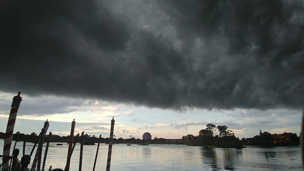 Storm Rolling In at Epcot