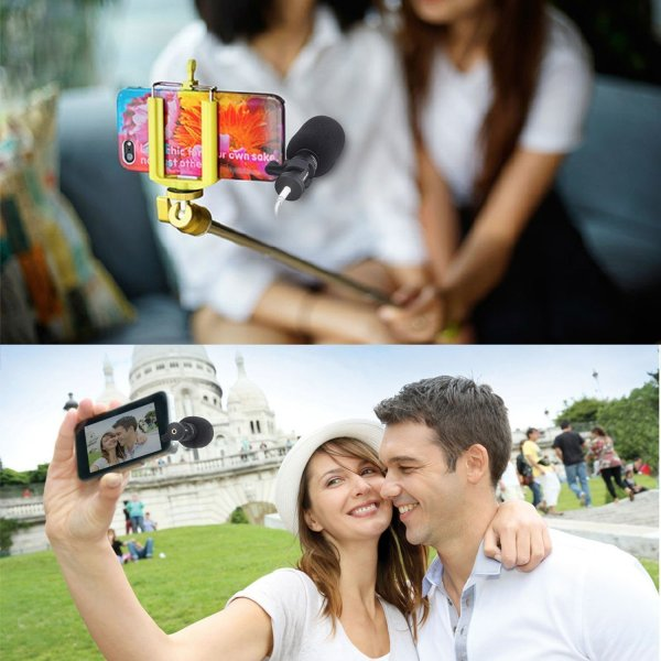 Smartphone Microphone for Vlogging