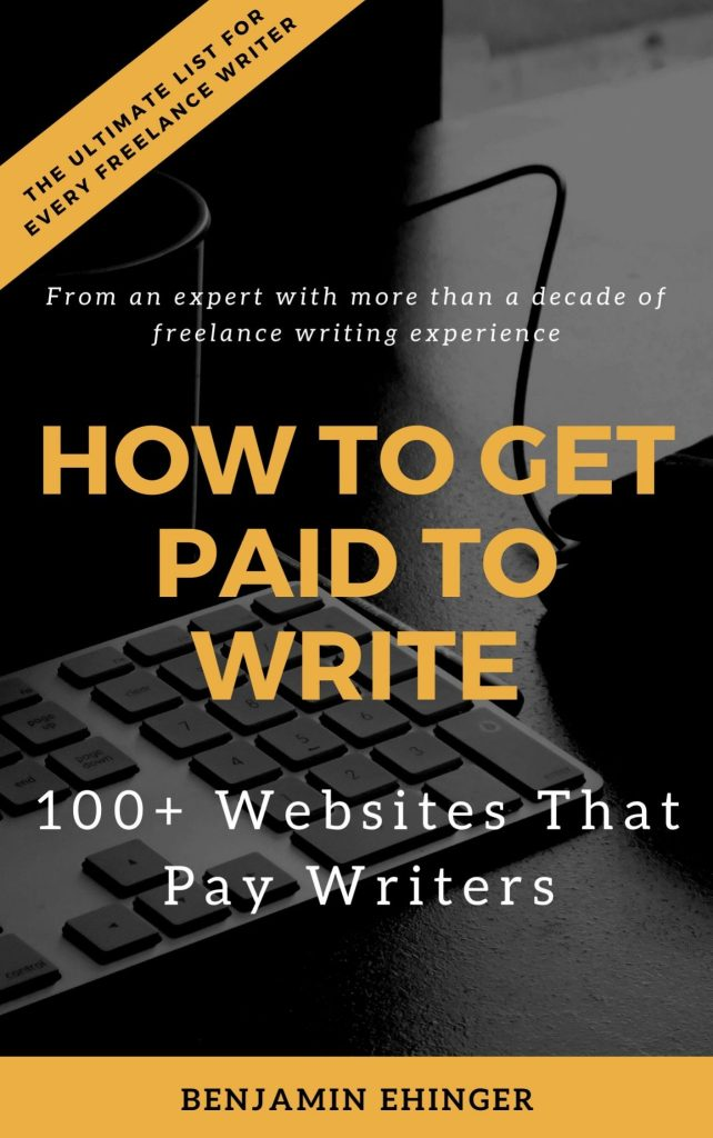 100+ Websites That Pay Writers Cover