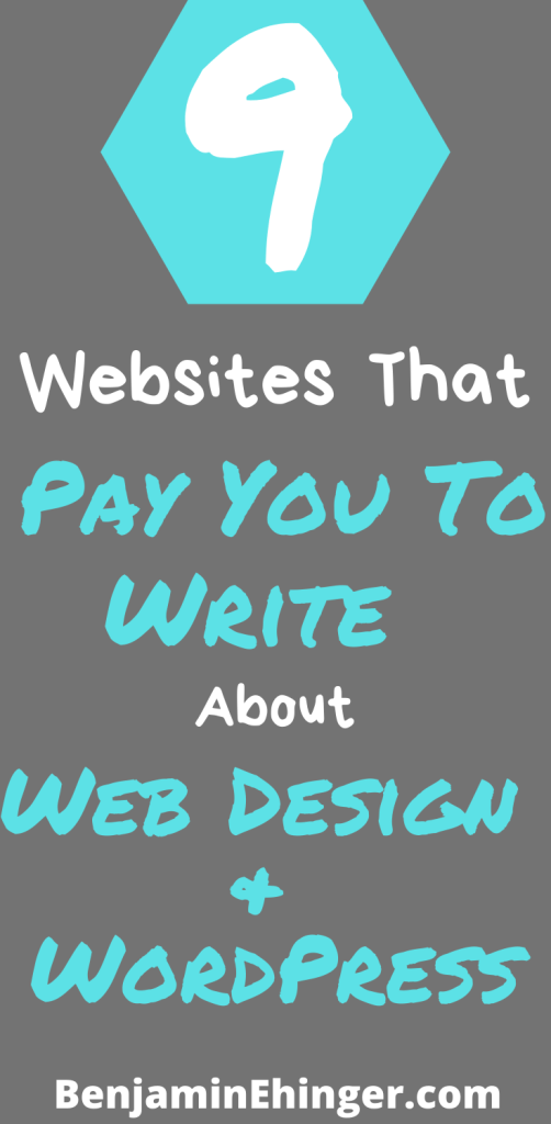 Websites That Pay You To Write About Web Design