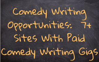 Comedy Writing Opportunities
