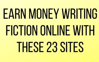 Earn Money Writing Fiction