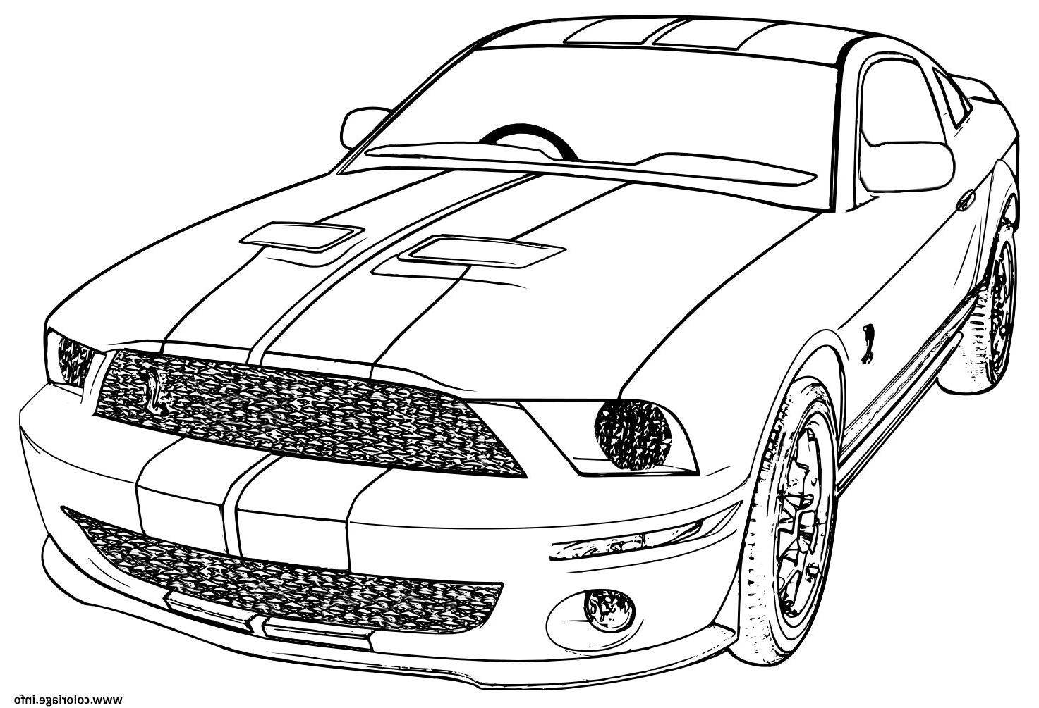 Mustang Dessin