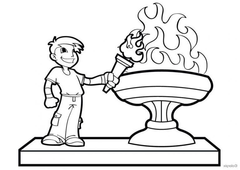 Feuer Malvorlage